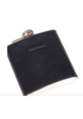 Men's Barbour Hipflask Giftbox