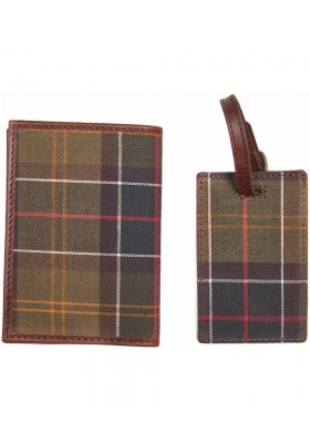 Etui na dokumenty-Barbour Passport Cover & Tag