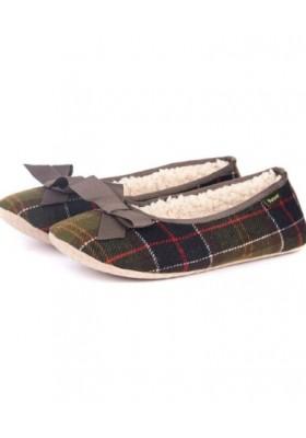 Damskie obuwie domowe- Barbour Lily Slippers