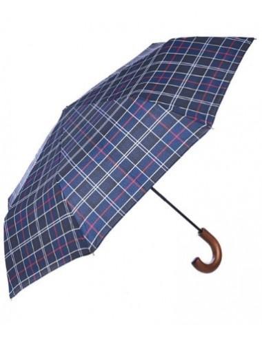 Męski parasol-Barbour Tartan Telescopic Umbrella