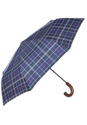 Męski parasol-Barbour Tartan Telescopic Umbrella