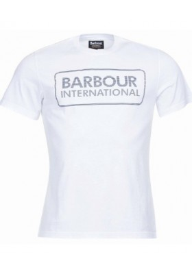 Męska koszulka- Barbour International Line Logo Tee