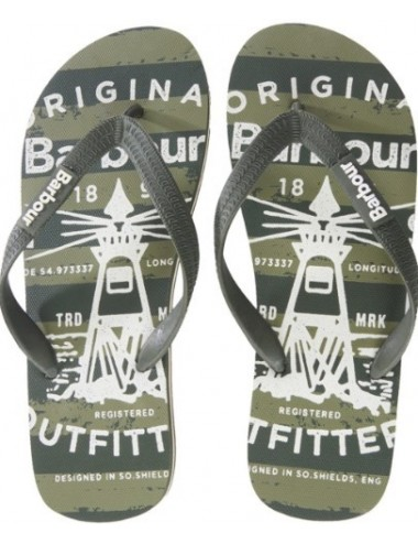 Męskie japonki- Barbour Beacon Beach Sandals OL.