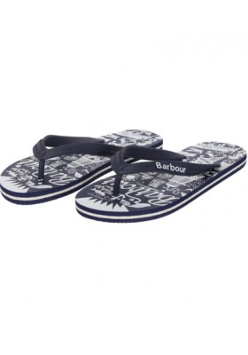 Damskie japonki- Barbour Beach Sandals G