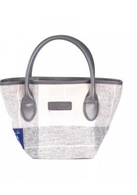 Damska torebka-Barbour Tartan Mini Tote Handbag
