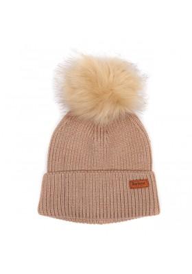 Damska czapka-Barbour Dover Pom Bean
