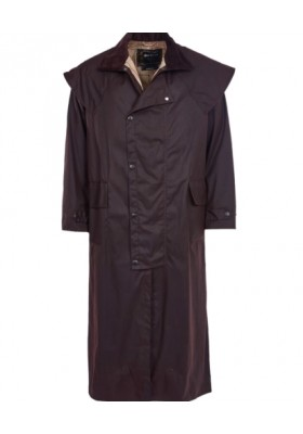 Męski płaszcz-Barbour Stockman Waxed Coat