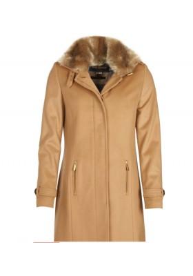 Damski płaszcz- Barbour Balmedie Wool Coat