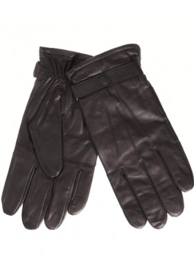 Męskie rękawice- Barbour Burnished Leather Insulated Gloves
