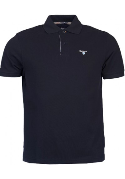 Męskie polo- Barbour Tartan Pique Polo Shirt