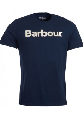 Męska koszulka-Barbour Logo Tee