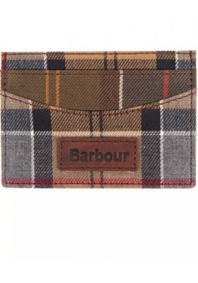 Etui na karty-Barbour Mixed Tartan Card Holder