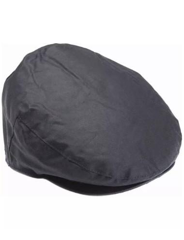 Męski kaszkiet- Barbour Waxed Flat Cap