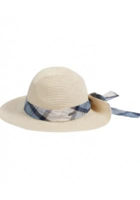 Damski kapelusz-Barbour Lorne Tartan Trimmed Fedora Hat