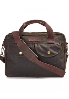Męska torba-Barbour Longthorpe Wax Laptop Bag