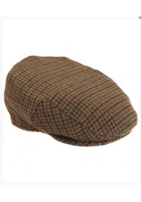 Męski kaszkiet-Barbour Wool Crieff Flat Cap