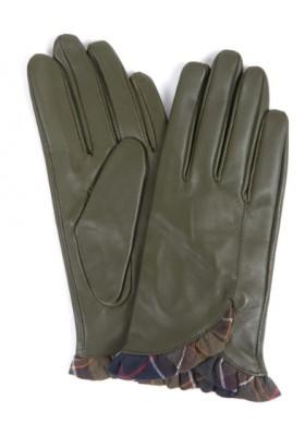 Damskie rękawiczki- Barbour Glenn Leather Gloves