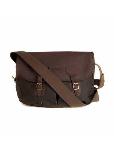 Torba-Barbour Wax and Leather Tarras Bag