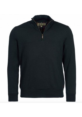 Męski sweter- Barbour Gamlan Half Zip Sweater