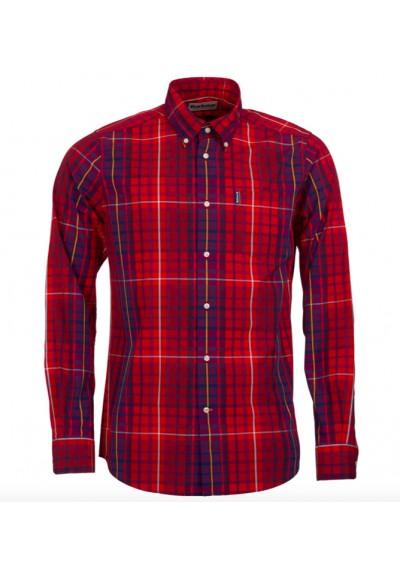 Męska koszula- Barbour Highland Check 9 Tailored Shirt