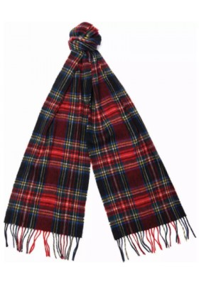 Szal- Barbour New Check Tartan Scarf