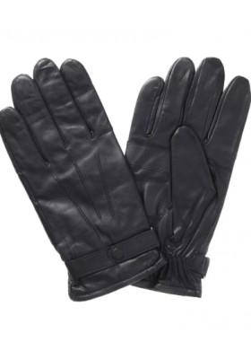 Męskie rękawice- Barbour Burn Leather Gloves