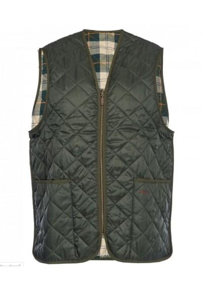 Men's Barbour Quilted Waistcoat / Zip-in Liner