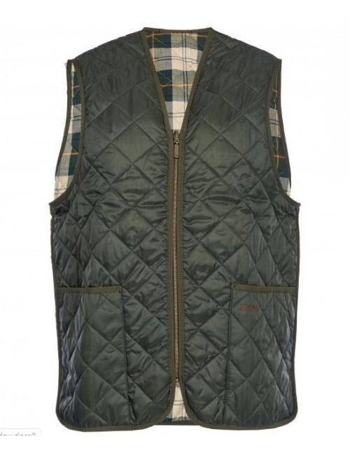 Męska kamizelka - Barbour Quilted Waistcoat / Zip-in Liner