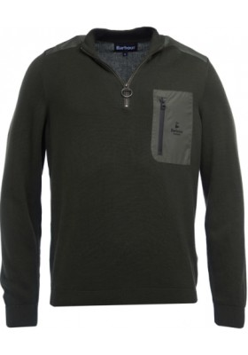 Męski sweter- Barbour Almarine Half Zip Sweater