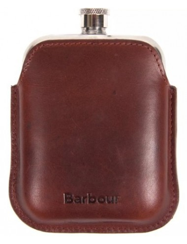Piersiówka- Barbour Leather Hipflask