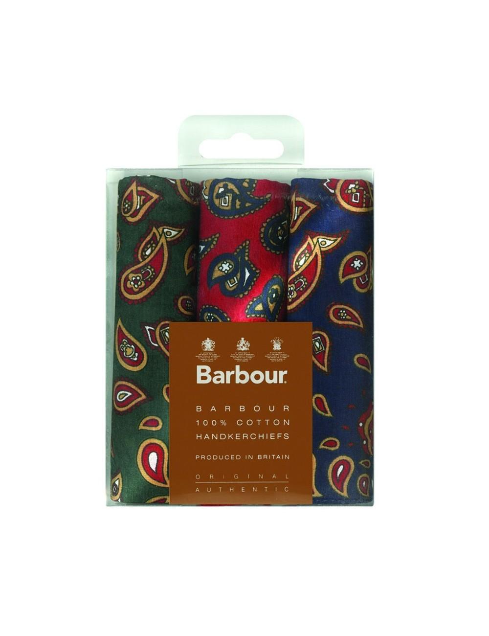 Men's Barbour Paisley Handkerchiefs