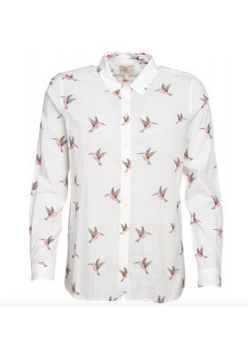 Damska koszula - Barbour Kingfisher Print Shirt