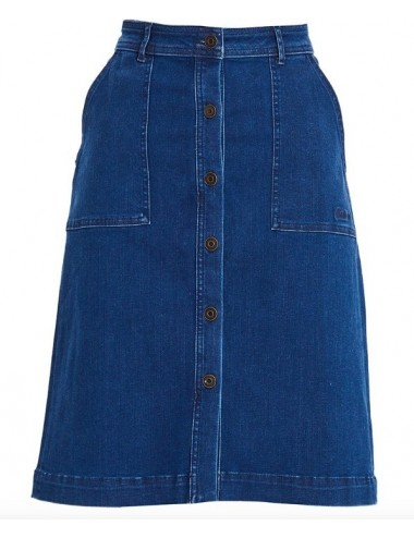 Damska spódnica - Women's Barbour Maddison Denim Skirt