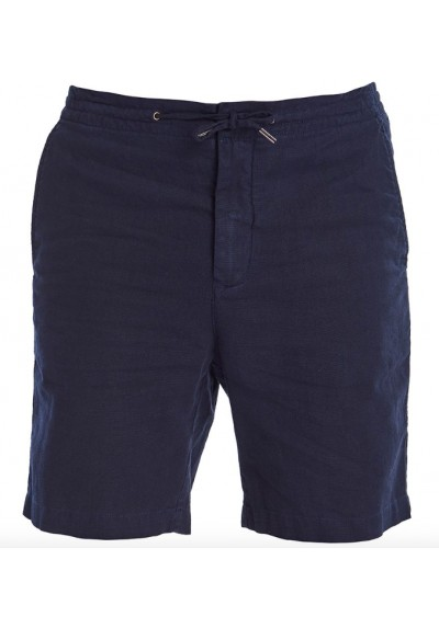 Męskie szorty - Men's Barbour Linen Mix Shorts