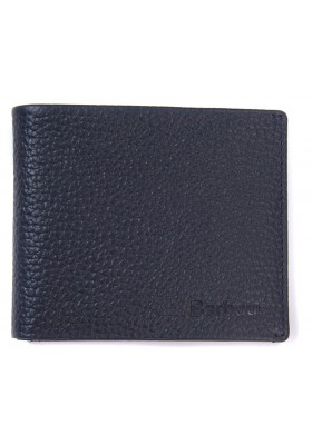 Męski portfel -Men's Barbour Laddon Leather Billford Wallet