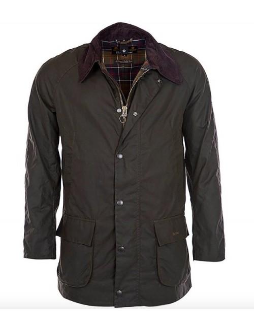 Męska kurtka woskowana - Barbour Bristol Waxed Jacket
