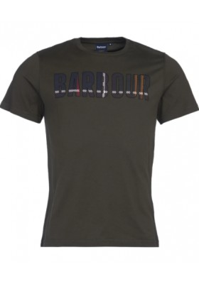 Męski T-Shirt- Barbour Wallace Tee