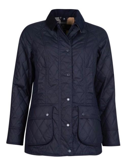 Damska kurtka woskowana-Women's Barbour Gibbon Waxed Jacket