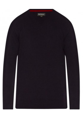 Męski sweter -Men's Barbour Harrow V-neck Sweater