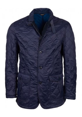 Męska kurtka-Men's Barbour Doister Polar Fleece Quilted Jacket