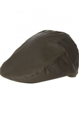 Męski kaszkiet, Barbour Waxed Flat Cap