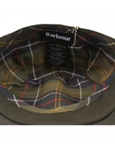 Men's Barbour Waxed Flat Cap- Sylkoil