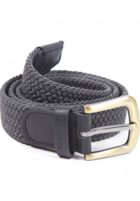 Męski pasek Barbour Stretch Webbing Leather Belt