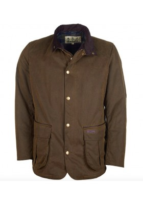 Męska kurta woskowana - Barbour Gilipin Waxed Cotton Jacket