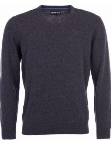 Męski sweter- Barbour Essential Lambswool