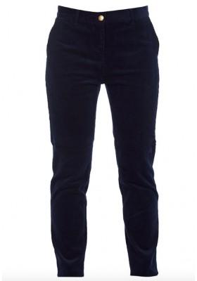 Damskie spodnie - Barbour EssCord Chinos