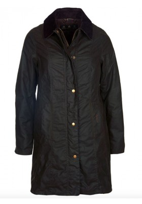 Damska kurtka woskowana - Barbour Belsay Waxed Cotton Jacket