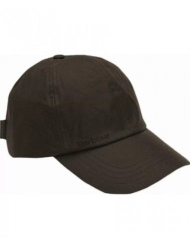 Męska czapka woskowana - Barbour Waxed Sports Cap