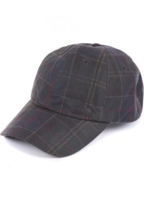 Męska czapka-Barbour Darwen Tartan Sports Cap