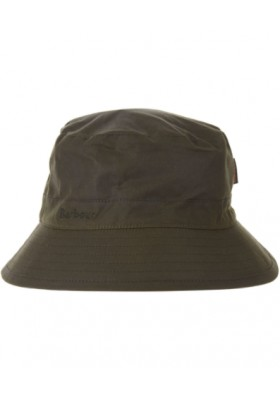 Męski kapelusz-Men's Barbour Waxed Sports Hat